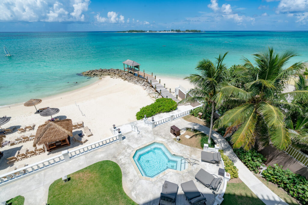View from The Room 2 at the Sandals Royal Bahamian Spa Resort & Offshore Island
