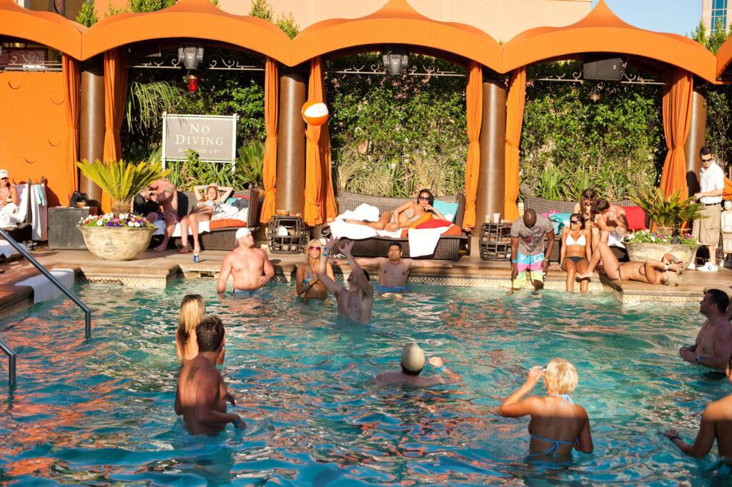 The Tao Beach Pool at the The Venetian Resort Las Vegas