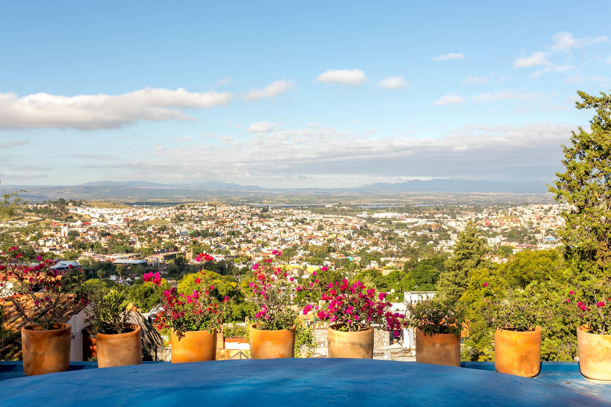 View of San Miguel de Allende from Mansion San Miguel