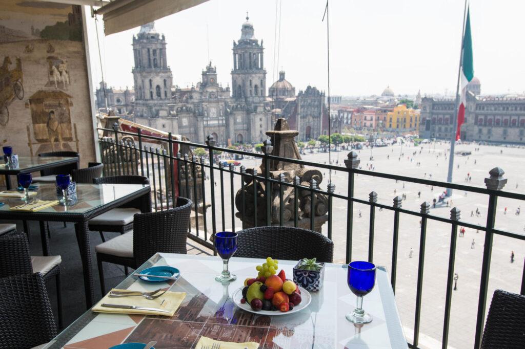 Terraza at the Gran Hotel Ciudad de Mexico