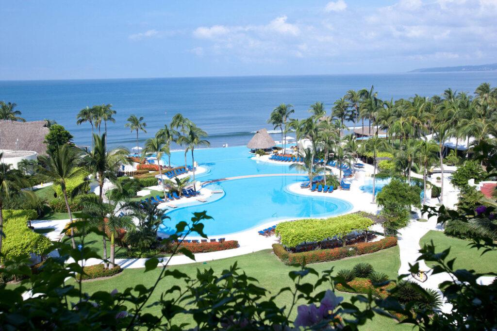 View from hotel at the Grand Velas Riviera Nayarit