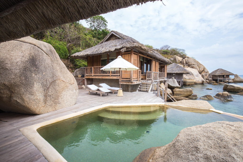 The Water Pool Villa at the Six Senses Ninh Van Bay