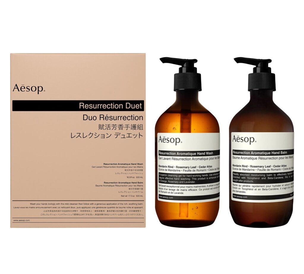 Aesop Resurrection Aromatique Hand Wash & Hand Balm Duet