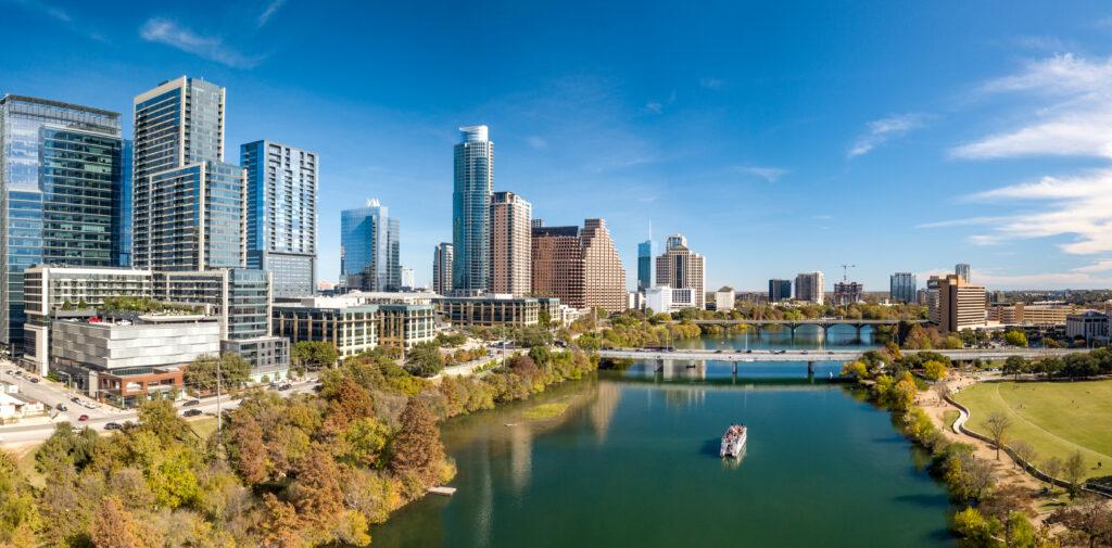 Lady Bird Lake, Austin, Texas