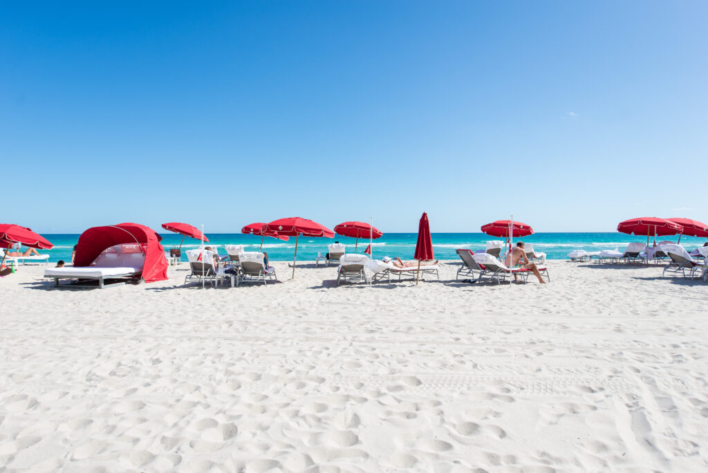 Beach at Acqualina Resort and Spa