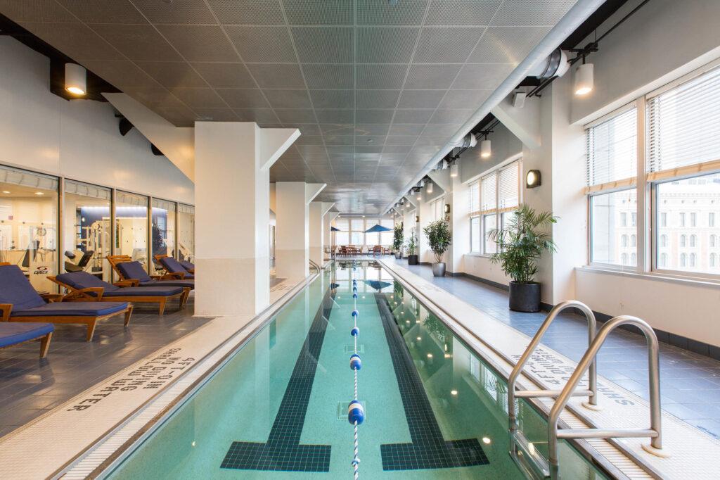 The Pool at the Loews Philadelphia Hotel