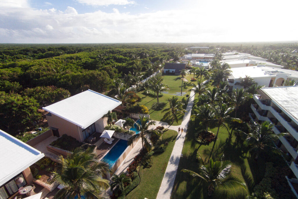 Aerial Photography at the Catalonia Royal Bavaro