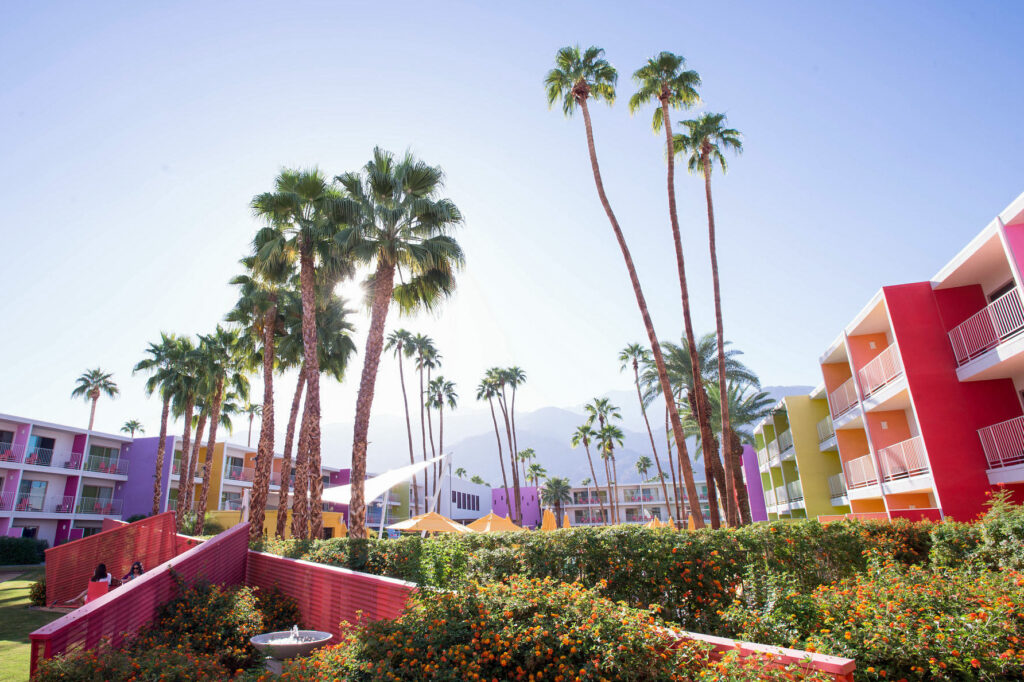 Bocce Court at The Saguaro Palm Springs