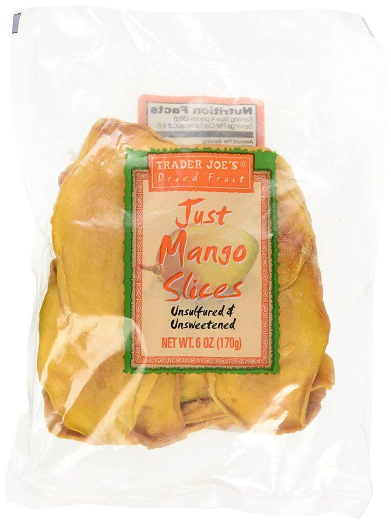 trader joe's just mango slices