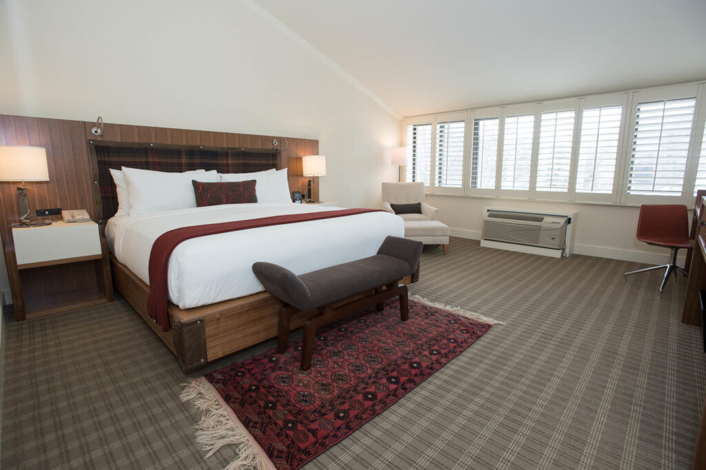 The Moss Glen Suite at the Topnotch Resort