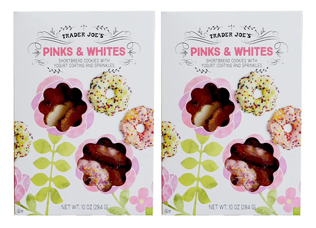 trader joe's pinks and whites