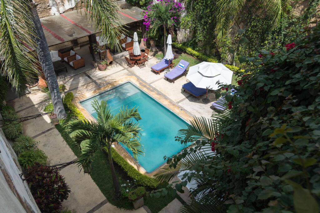 The Pool at the Hotel Boutique De La Parra