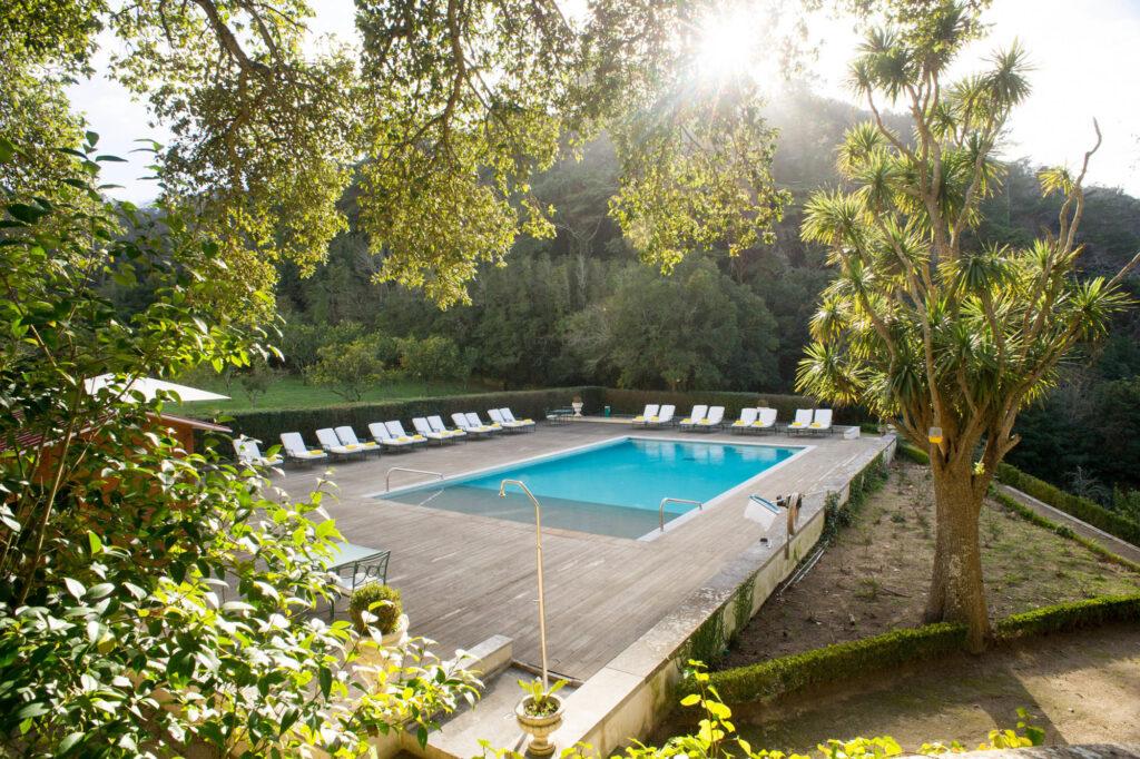 The Pool at the Hotel Tivoli Palacio de Seteais