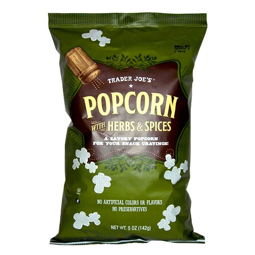 trader joe's popcorn herbs and spices