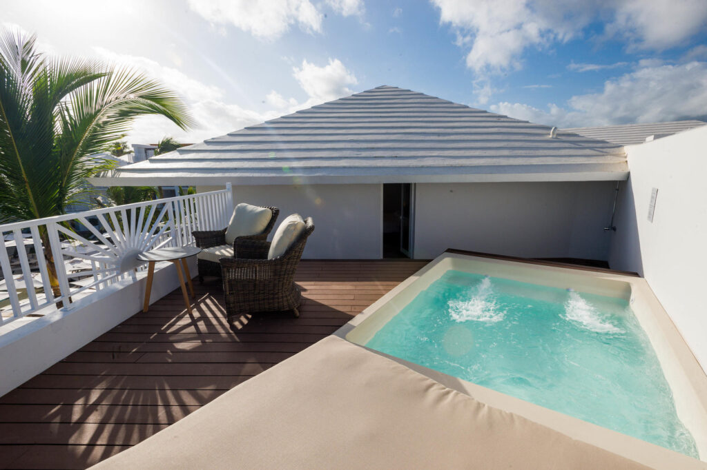 The Terrace Suite with Plunge Pool at the Excellence Punta Cana