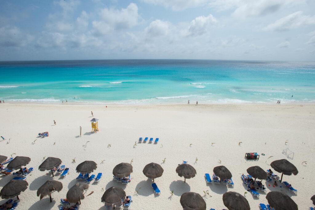 Terrace at the Flamingo Cancun Resort