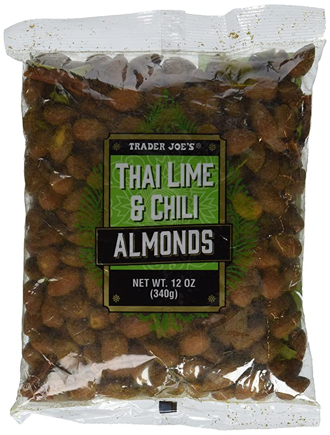 trader joe's thai lime and chile almonds