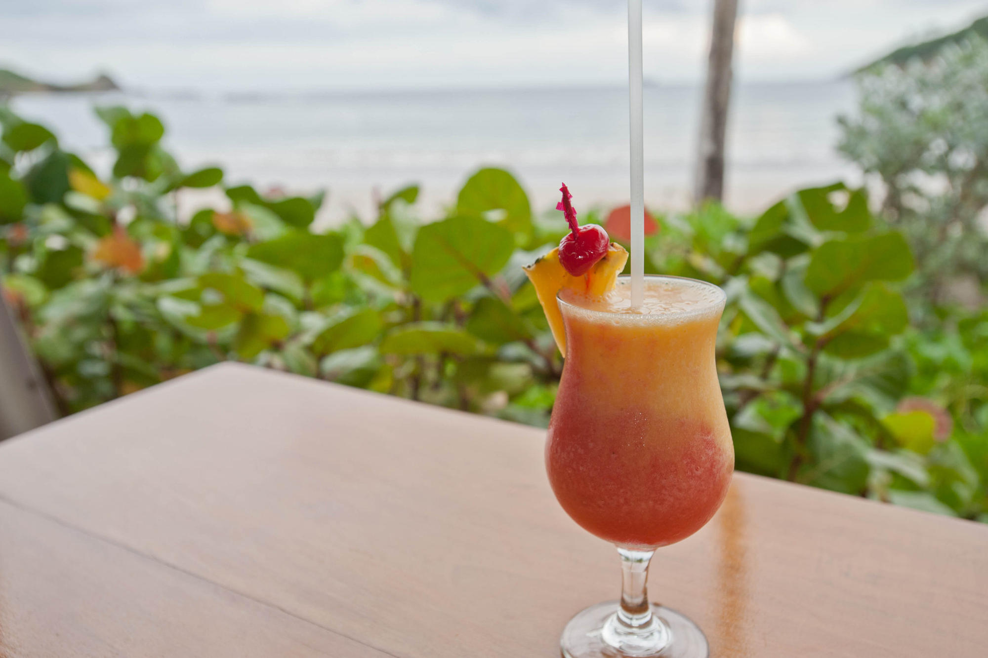 Bahama Mama Cocktail Drink in the Caribbean