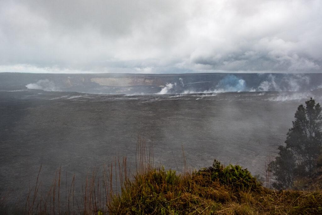Kilauea Volcano in Hawaii Volcanoes National Park