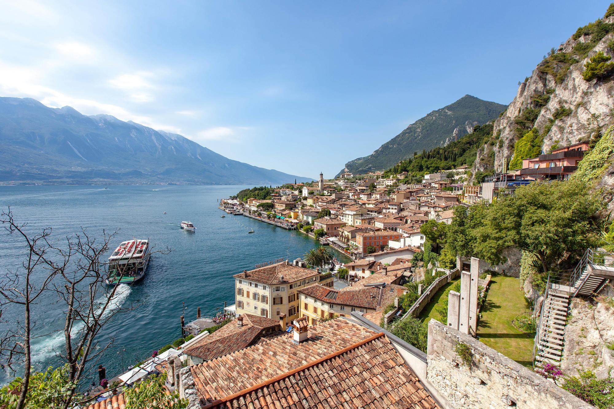 Hotel Castell, Lake Garda, Italy
