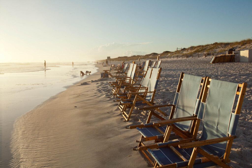 Beach at the WaterColor Inn & Resort