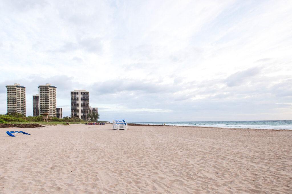 Beach at the Palm Beach Marriott Singer Island Beach Resort & Spa