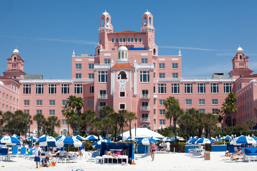 Beach at the The Don CeSar