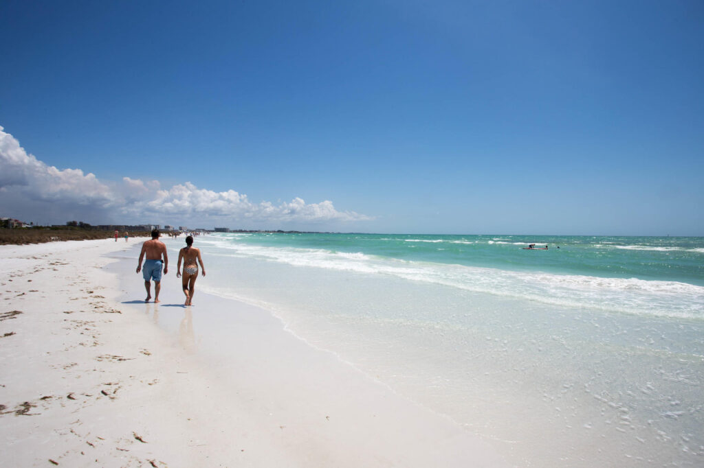 Beach at The Ringling Beach House - A Siesta Key Suites Property
