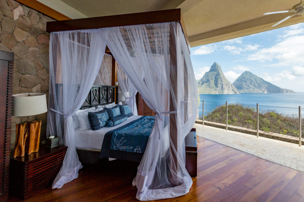 The Galaxy Sanctuary at the Jade Mountain Resort