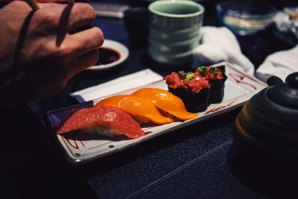 Sushi in Japan