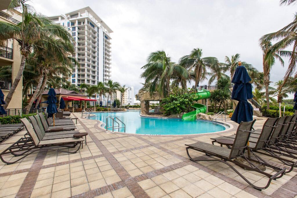The Lagoon Pool at the Palm Beach Marriott Singer Island Beach Resort & Spa
