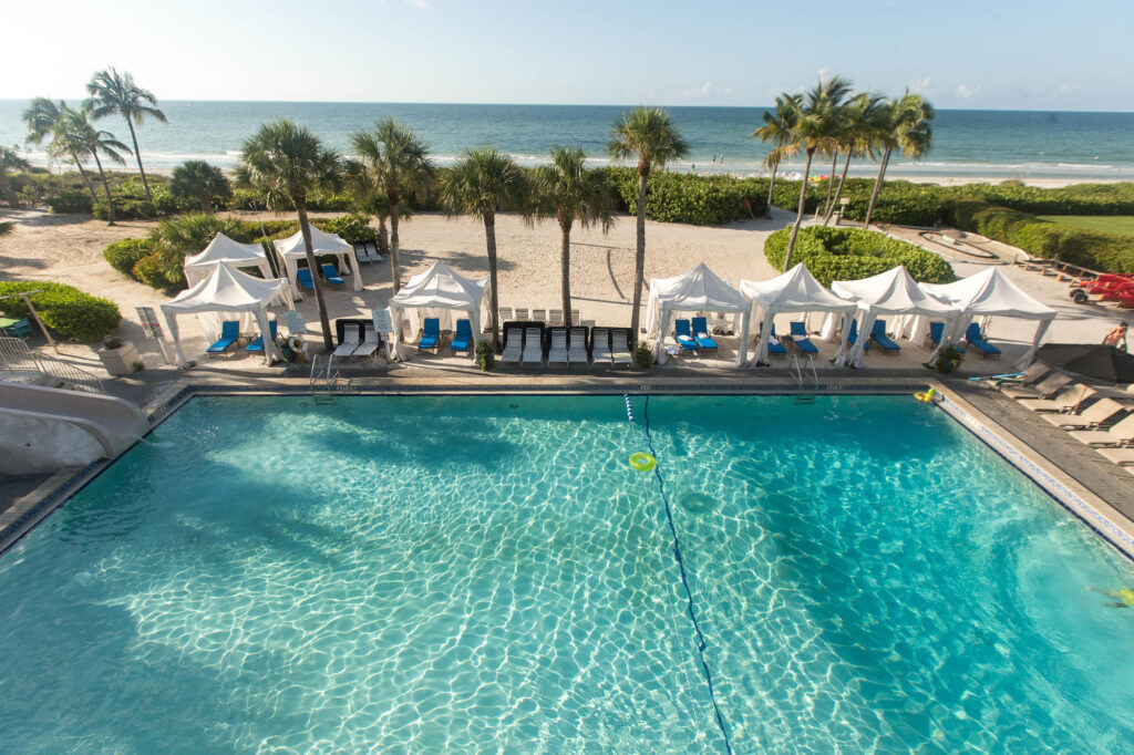 The Main Pool at the Sundial Beach Resort & Spa