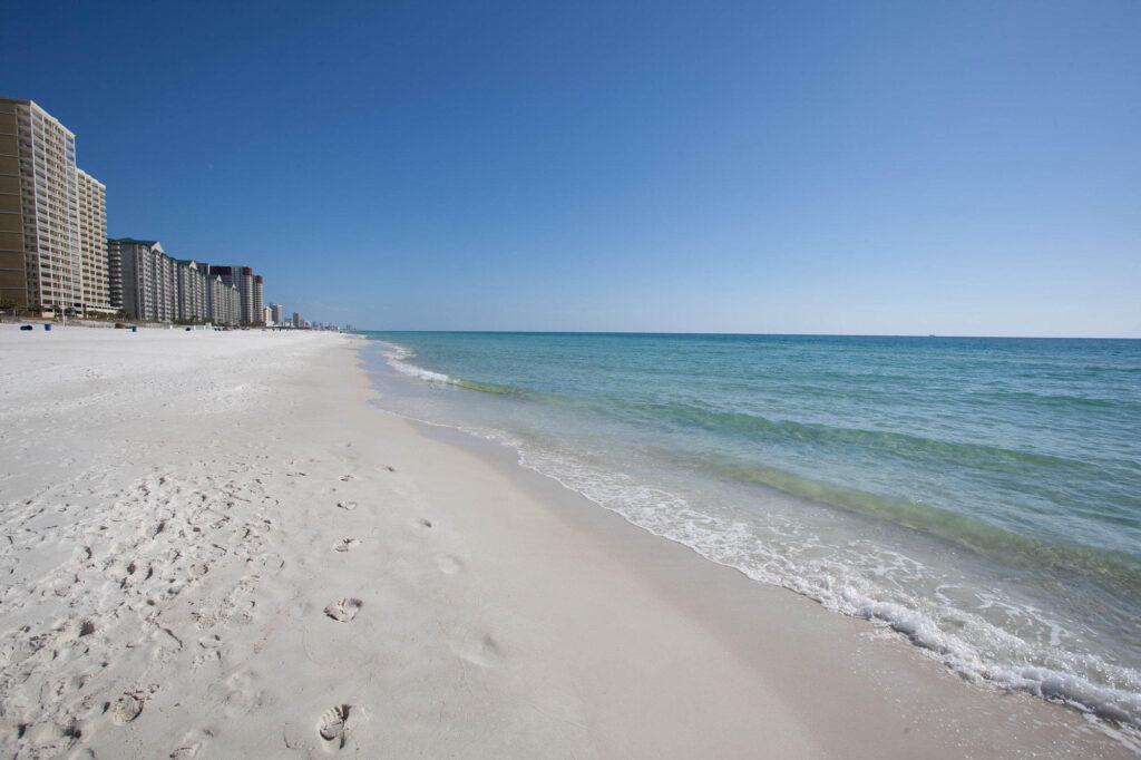 Beach at the Grandview East & West Condominiums