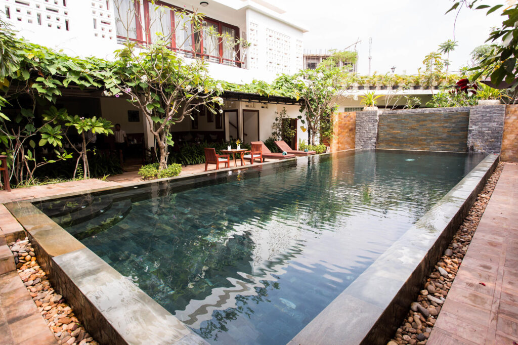 The Pool at The Moon Residence & Spa