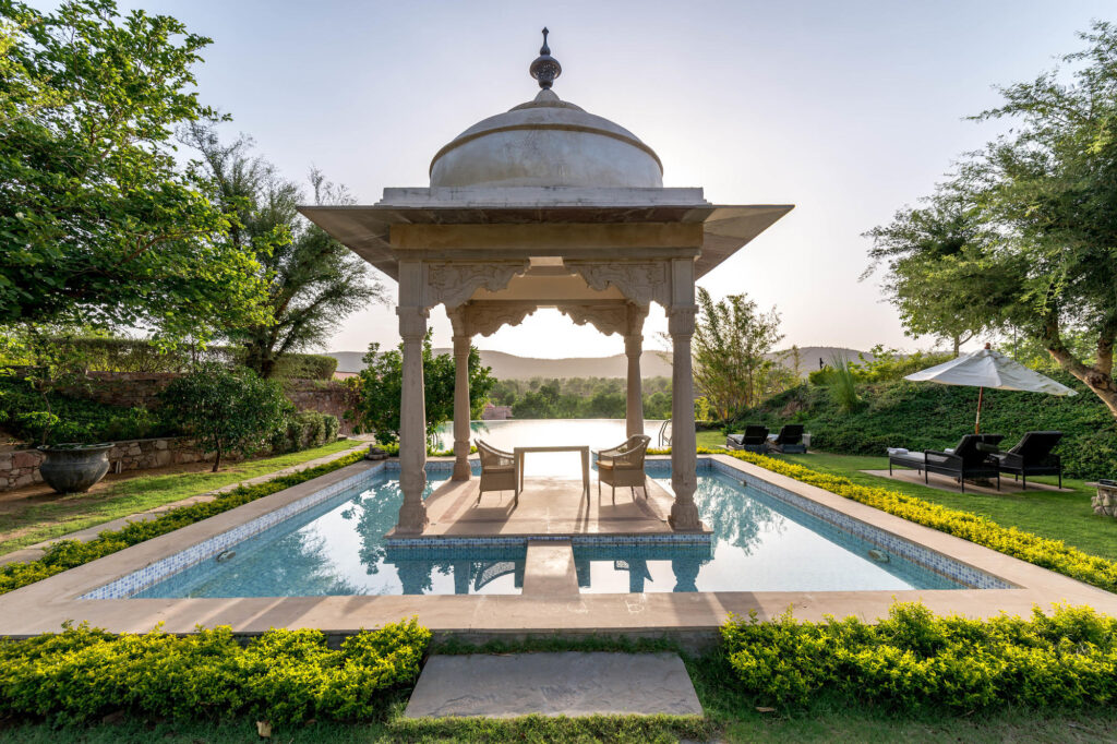 The Pool at the Tree of Life Resort & Spa Jaipur