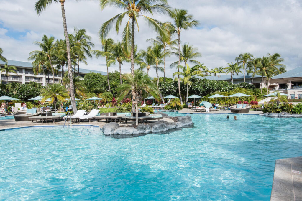 Pool at Fairmont Orchid, Hawaii