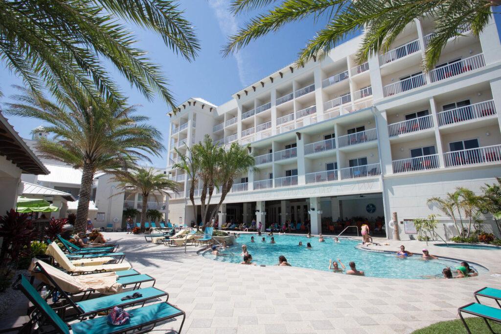 The Pool at the Shephard's Beach Resort