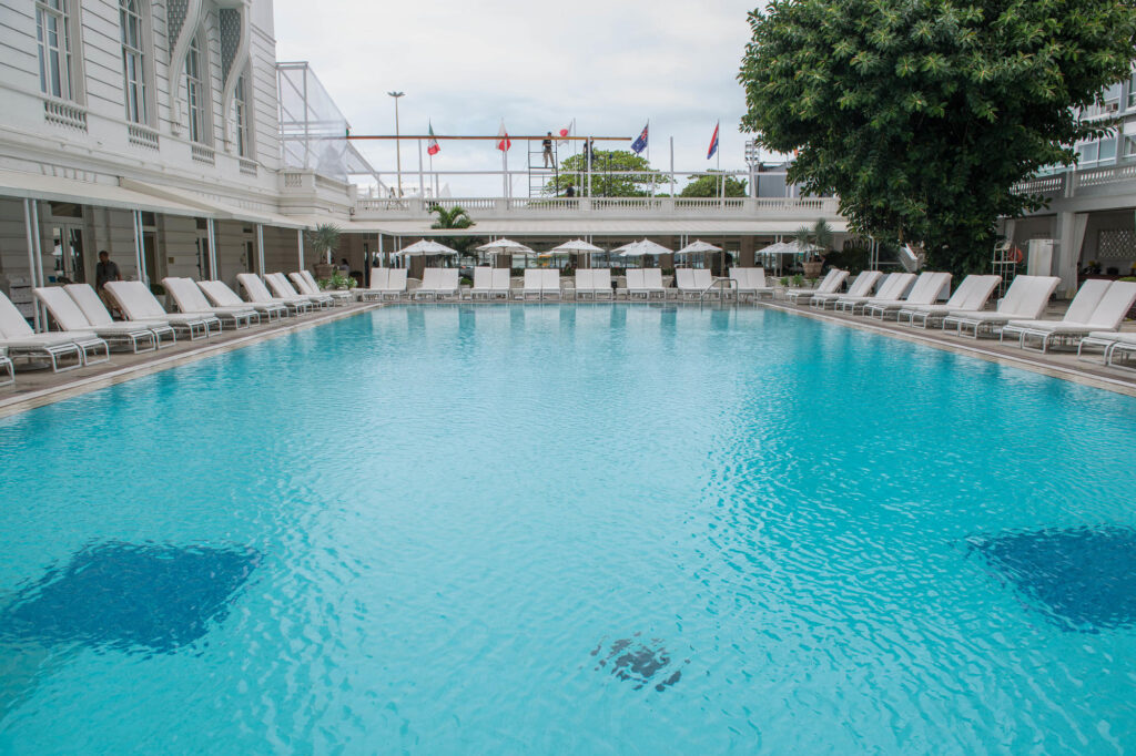 The Pool at the Belmond Copacabana Palace
