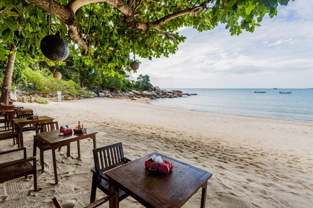 Restaurant at the Thongtapan Resort