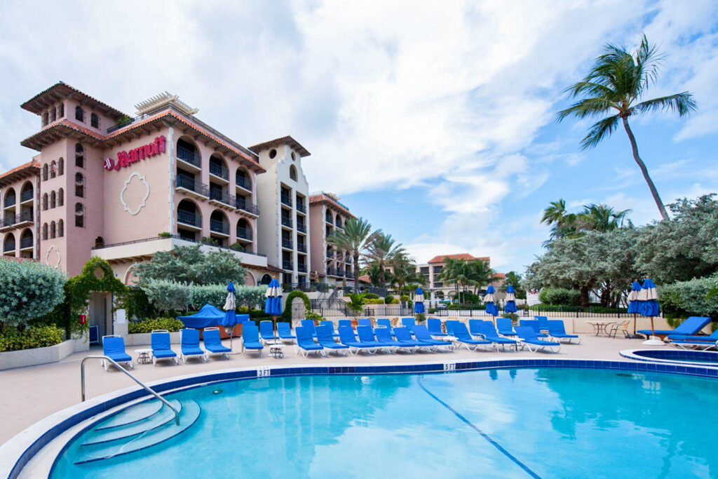 The Spa Adults Only Pool at the Delray Beach Marriott
