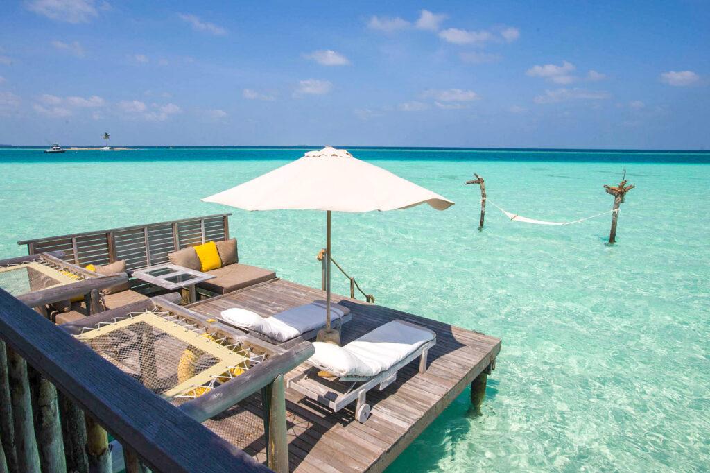 The Crusoe Residence at the Gili Lankanfushi