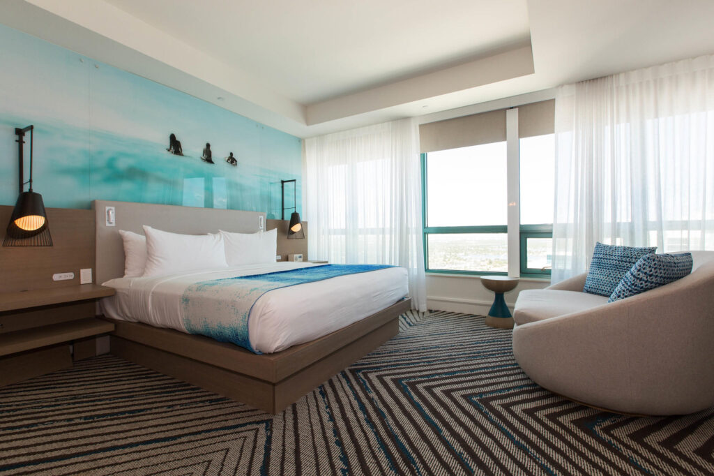 The Diplomat Suite at The Diplomat Beach Resort Hollywood, Curio Collection by Hilton