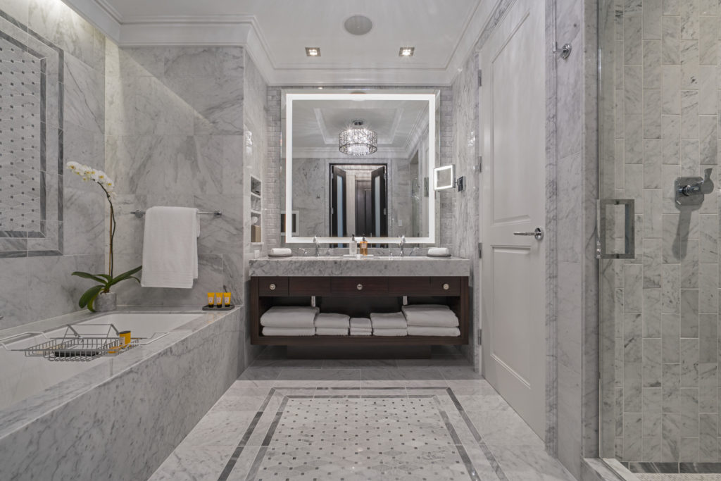 Bathroom at The Post Oak Hotel