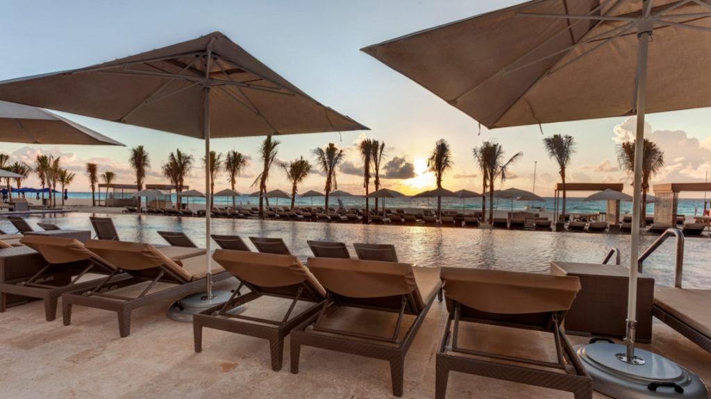 Pool at Royalton CHIC Suites Cancun