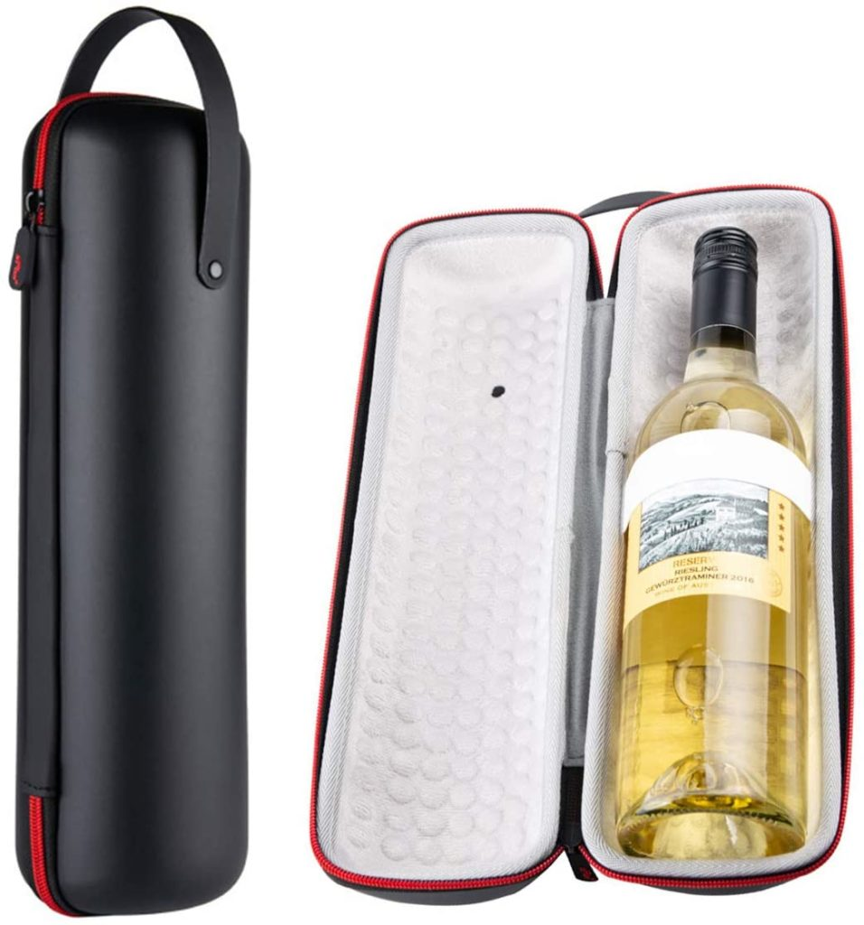 Shockproof & Waterproof Protective EVA Insulated Single Bottle Wine Tote