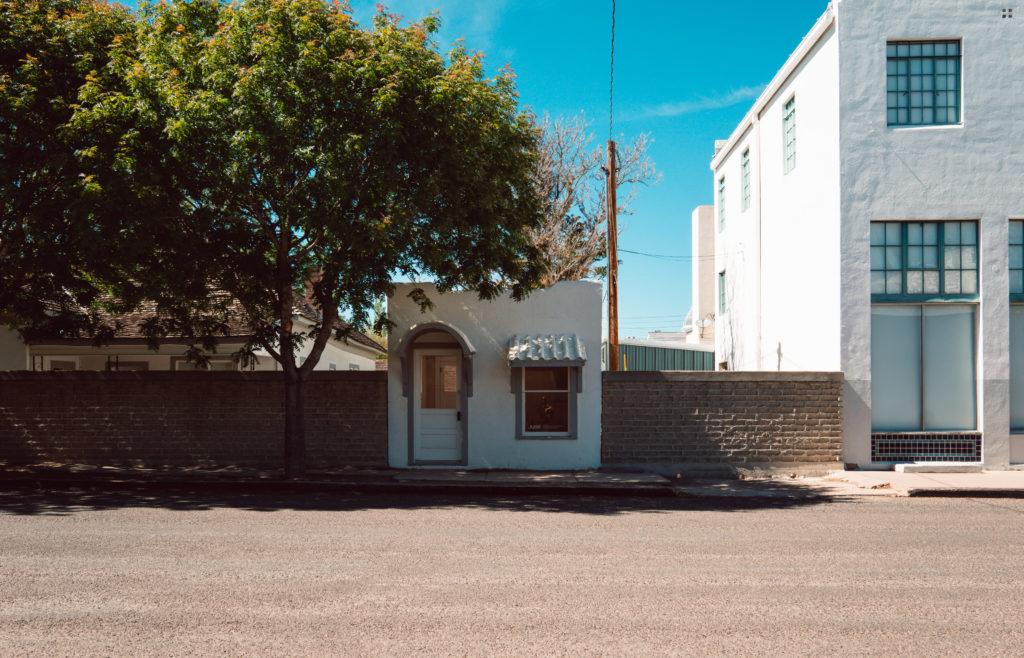 Tiny house in Marfa, Texas