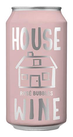 House Wine Rosé Bubbles