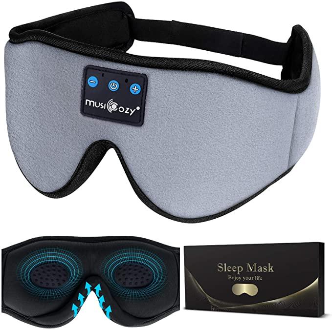 MUSICOZY Combination Sleep Headphones and Eye Mask